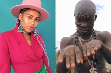 AY Poyoo Is Indeed The G.O.A.T! Check Out The Epic Reaction He Got From South African Top Music Star, Sho Madjozi After He Asked For A Collaboration