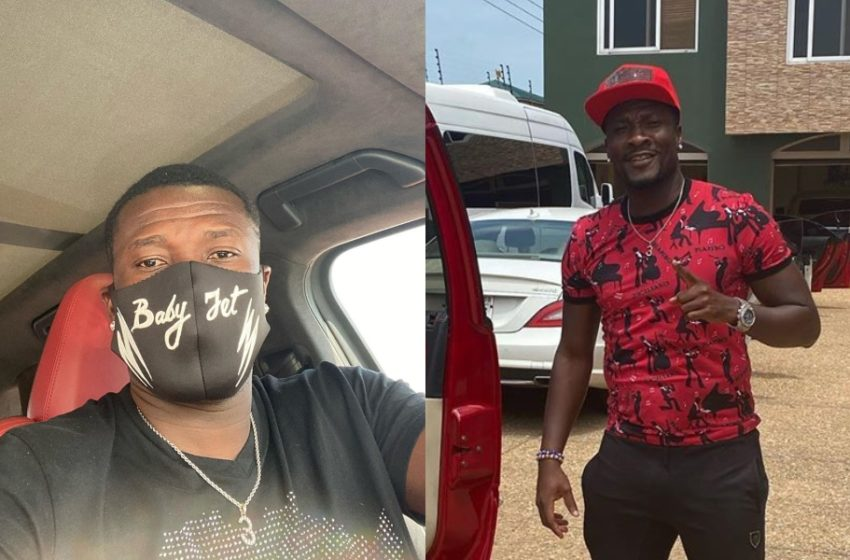 Asamoah Gyan Shows Off His Father On Social Media On His Birthday; They Really Lookalike (See Photos)