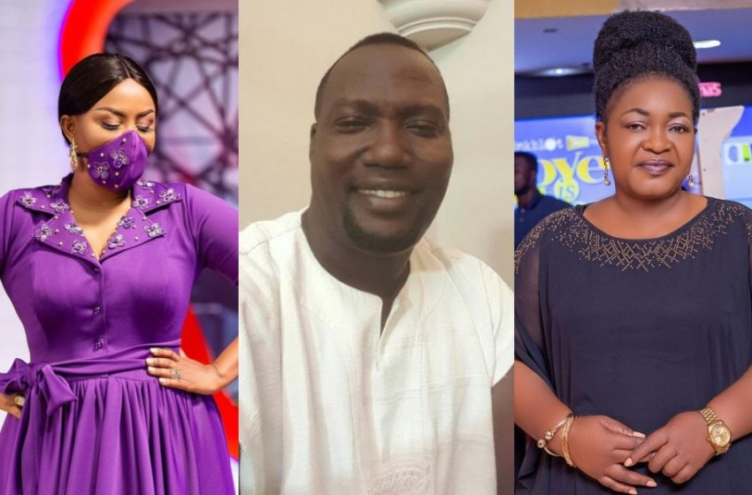 1st Visual From Bishop Nyarko's Funeral Pops Up; Nana Ama McBrown and Christiana Awuni Spotted Weeping In Sad Video
