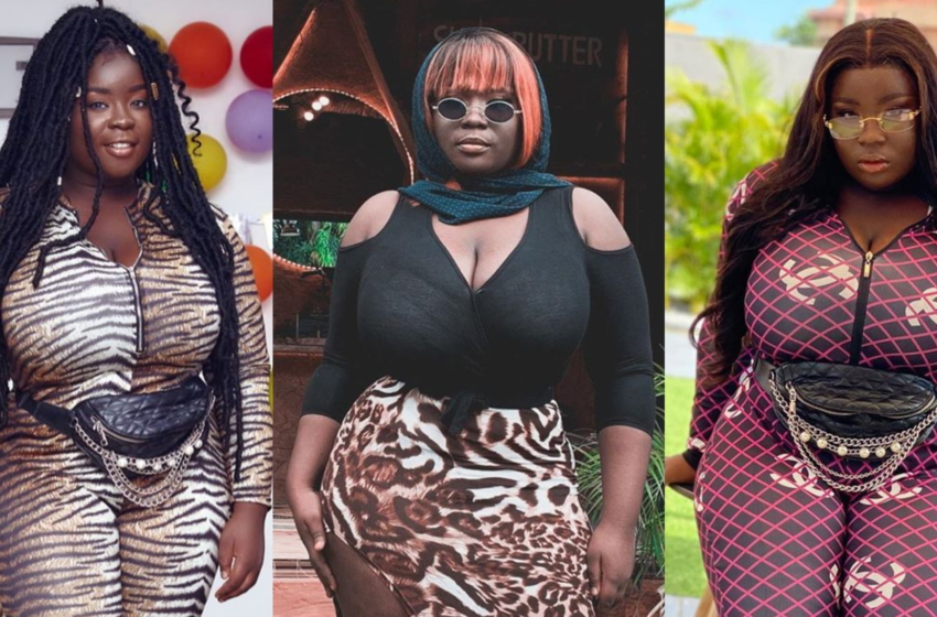 More Flesh On Fleek! Maame Serwaa Teases Fans Again With Another Photo Flaunting Her Raw Thick Body (+Photo)