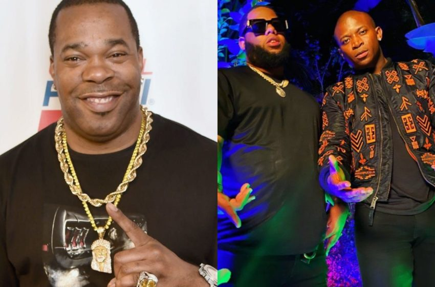Busta Rhymes Turns D-Black's Promoter, Shows Massive Love To The Ghanaboy – Watch