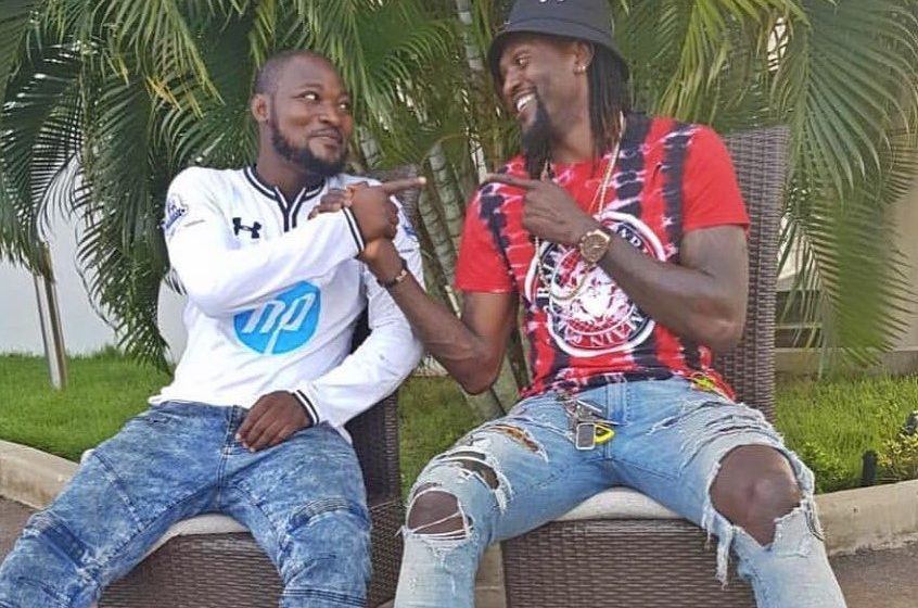 Just In: Funny Face And Adebayor Finally Reunite After Footballer Unfollowed Him On Social Media (See Photo)
