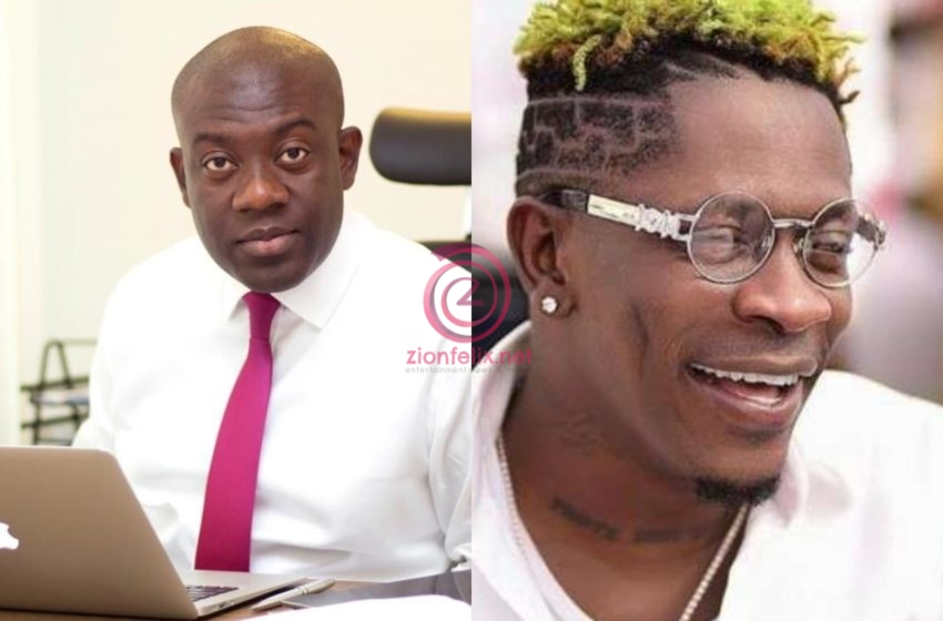 Information Minister, Kojo Oppong Nkrumah Congratulates Shatta Wale On His Collaboration With Beyoncé