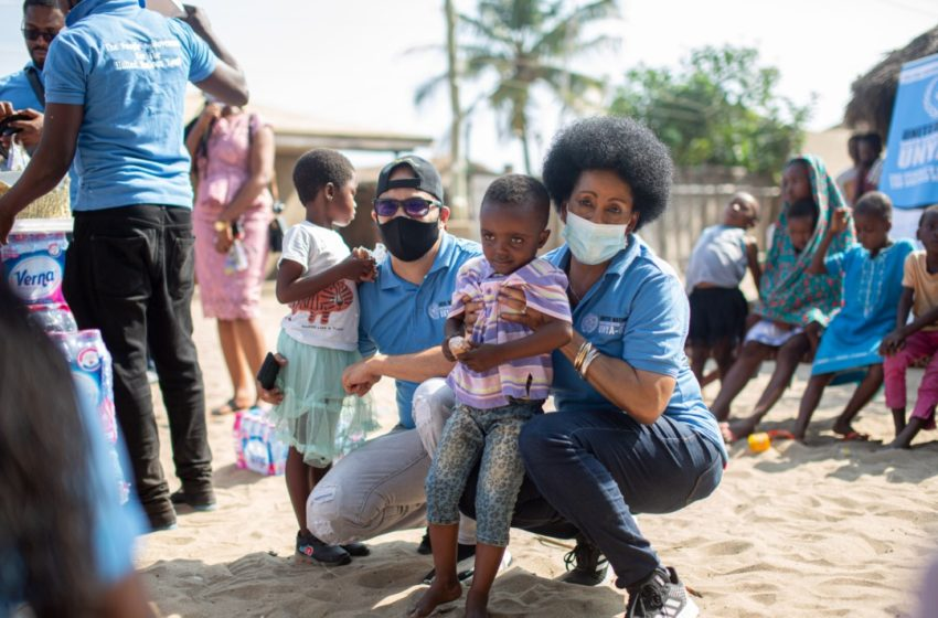 Twellium Ghana Chief Marketing Officer And UN Goodwill  Ambassador  Adopts Two  Kids  On His Birthday At An Orphanage