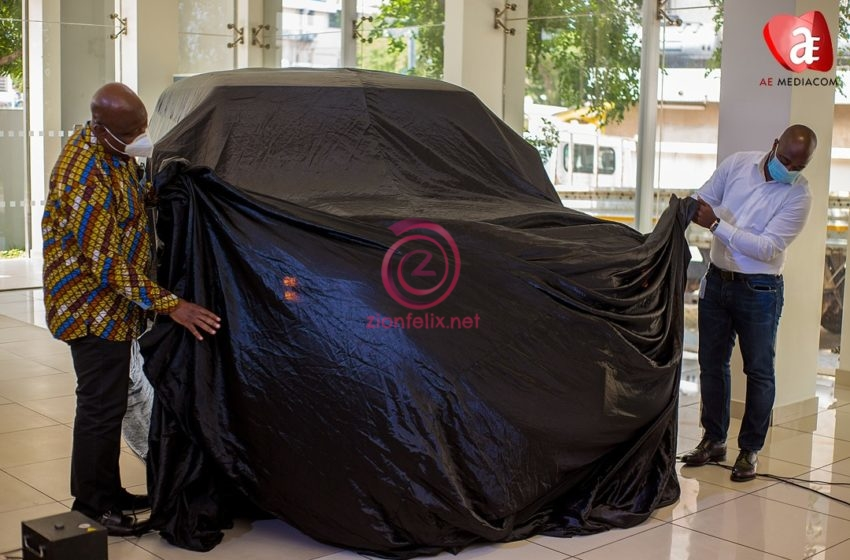Kwame Sefa Kayi And Kofi Abban Unveil New Land Rover Defender 2020