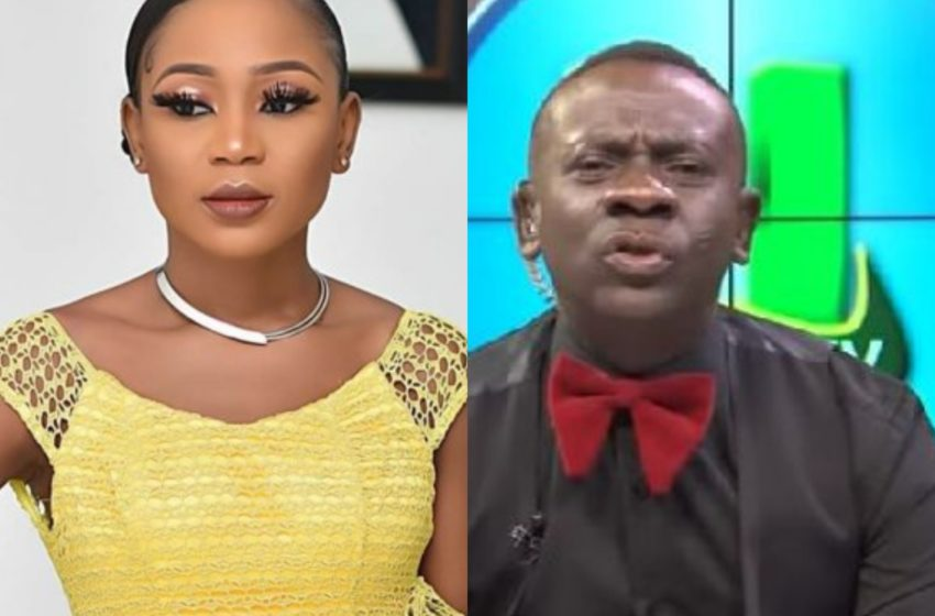 Are You The Only Single Mother In The World, What Sort Of Disgrace To Womanhood Is This? – Angry Akrobeto Blasts Akuapem Poloo In Public (Watch)