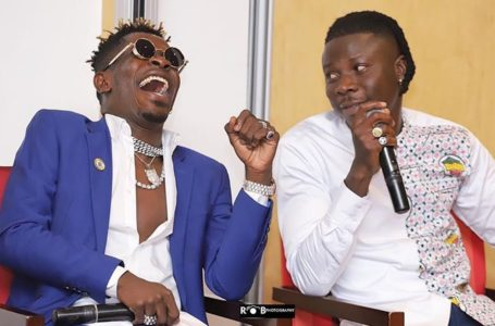 Stonebwoy Responds To Shatta Wale's Humorous 'Happy Birthday' Song For Him