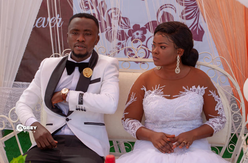 Blogger-Yaw Sarpong Marries Girlfriend In A Beautiful Ceremony – See Photos