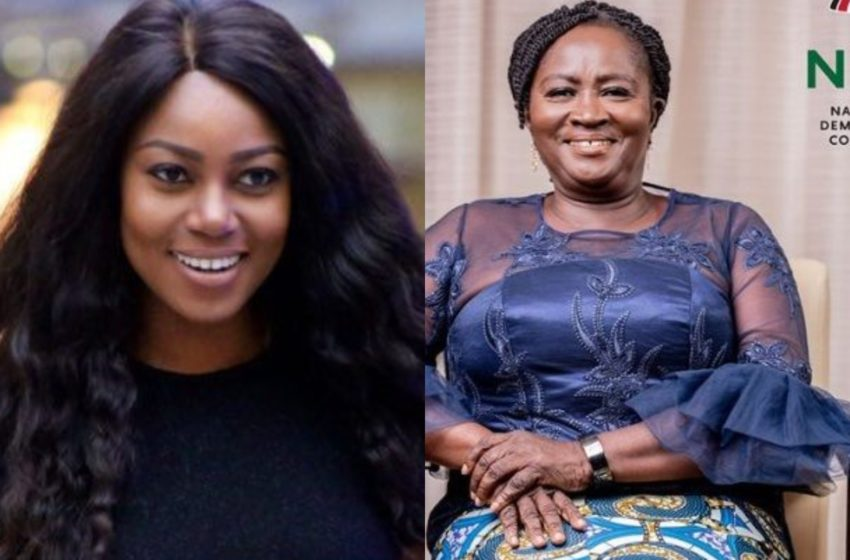 Don't Be Carried Away Like They All Do When They Win – Yvonne Nelson Tells Prof. Jane Naana Opoku-Agyemang