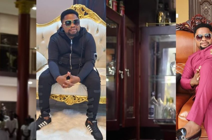 A Look Into The Plush Mansion And Classy Lifestyle Of Popular Prophet Angel Bazuka (Watch Video)