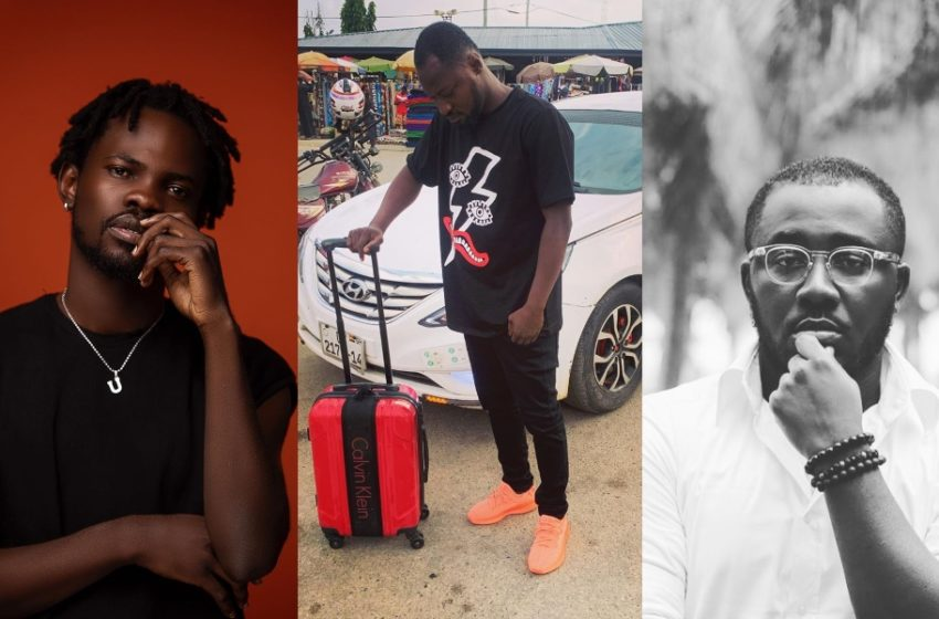 She_loves_Stonebwoyb, Kontihene And Fameye Surprise Funny Face As They Buy 200 Copies Of His Animal Kingdom Album (Watch Video)