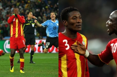 Asamoah Gyan Reacts To Trolls After Ghanaians Remember His WC Penalty Miss Against Uruguay 10 Years Ago