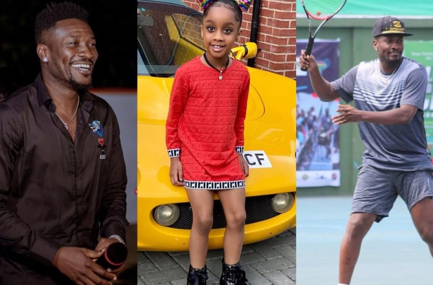 Meet Asamoah Gyan's Pretty Daughter Ohemaa Who Is A Year Older Today (See Cute Photos)