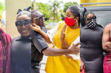Gloria Sarfo and Mikki Osei Berko Spark Dating Rumours Again As They Dance And Whine On Each Other In Romantic Video (Watch)