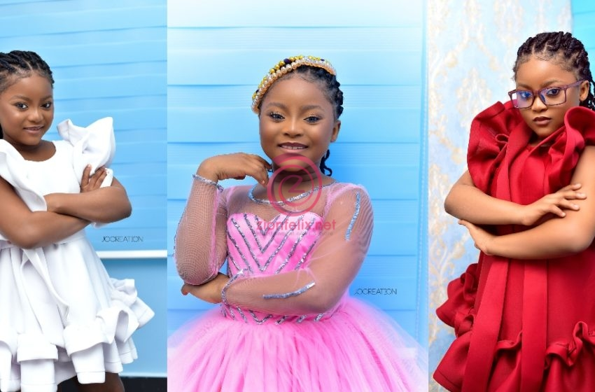 Talented Kids Star Nakeeyat Celebrates Birthday Today In Grand Style As She Drops Cute Photos For The Occasion