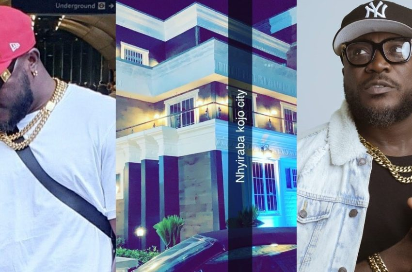 Super Rich Celebs: Nhyiraba Kojo Puts His Huge Mansion On Display (Watch Video)