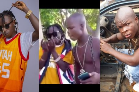 Patapaa And AY Poyoo Link Up To Remix Their Version Of Scopatumana And Putuu In Funny Video (Watch)