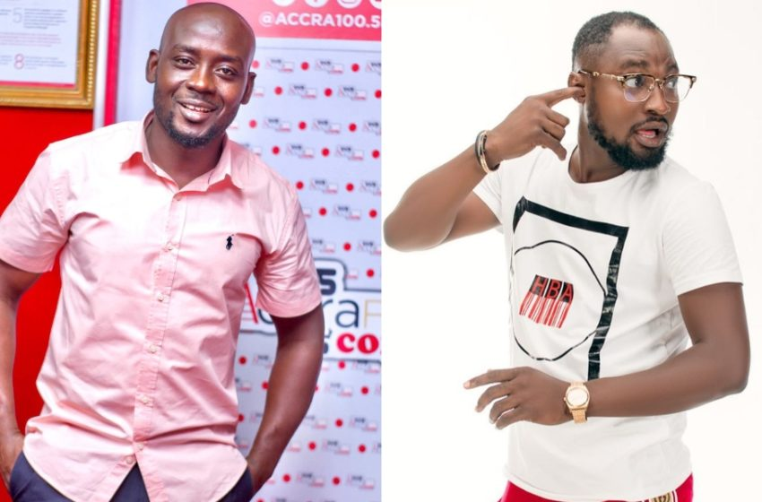 Funny Face Finally Confronts Nana Romeo Face To Face Following Gay Question In Video (Watch What Happened)