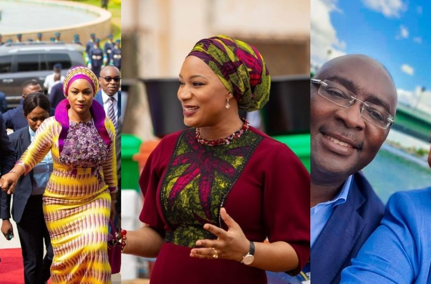 Meet The Handsome Young And Cute Son Of Vice President Bawumia And Second Lady Samira As They Go Shopping (+Photo)