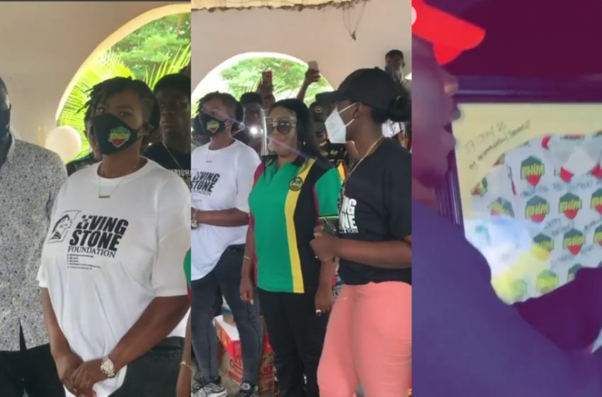 Celebrity Fan Birthday: Stonebwoy's Number One Fan Ayisha Celebrates Birthday In Style – Many Celebs Join In (Watch Videos)