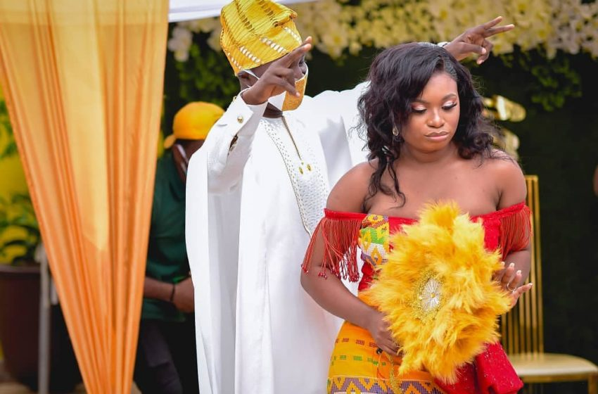 TV3 Newscaster Martin Asiedu Dartey Marries In Beautiful And Classy Wedding Ceremony (+Photos)