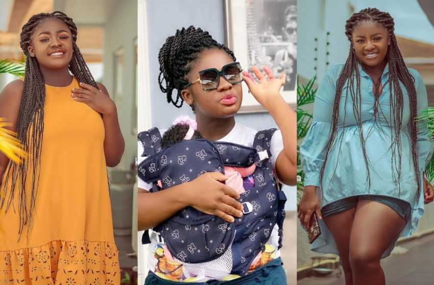 Tracey Boakye Shows Of Pretty Daughter Nhyira In New Video; Celebs Gush Over Her Cuteness (Watch)