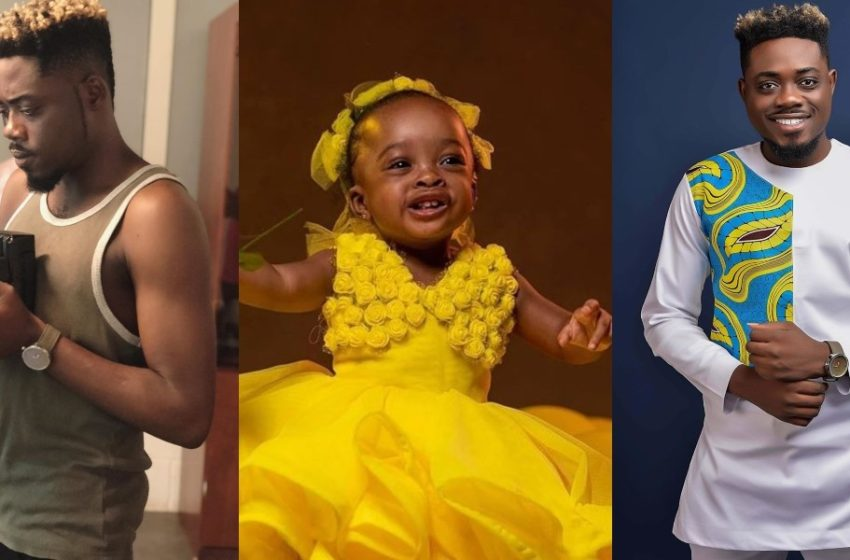 Music Video Director Xbills Ebenezer Shows Off Daughter For The First Time On Her First Birthday Today (See Pretty Photos)