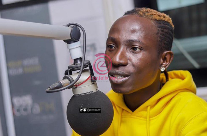Patapaa has fully recovered
