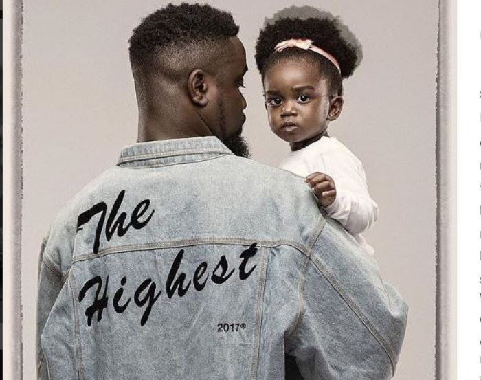 Sarkodie And his daughter Titi Break The Internet With Their New Photos