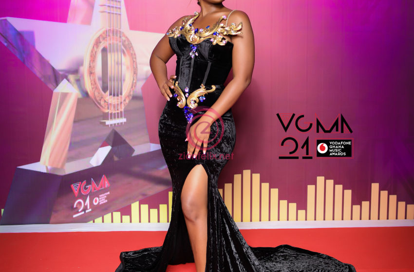 See What Some Ghanaian Celebrities Wore At The 2nd Day Of The 2020 VGMA Red Carpet