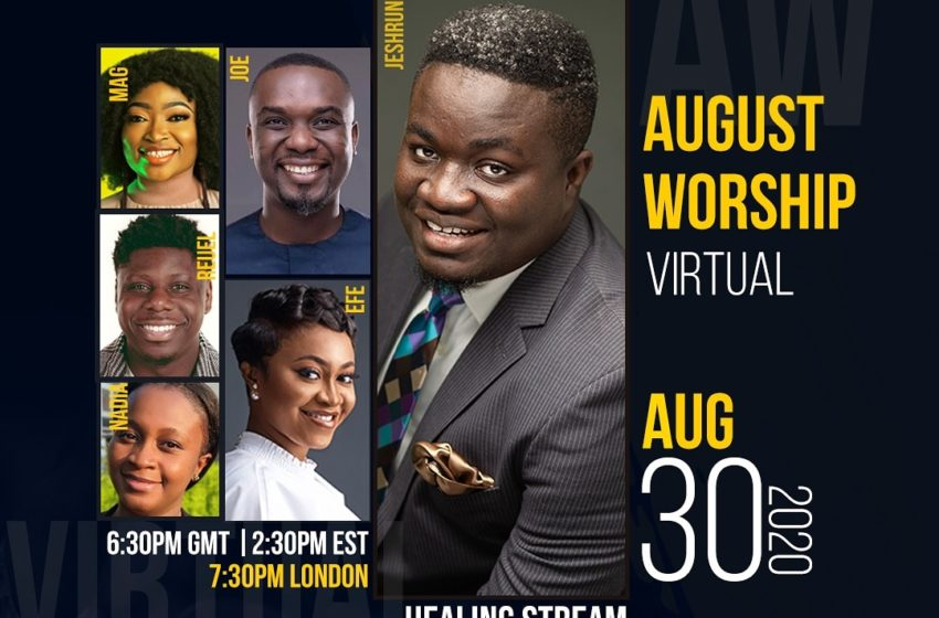 Eric Jeshrun To Host Virtual 'August Worship' With Joe Mettle And Other Talented Singers