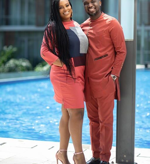 Joe Mettle And His Wife, Selasie Look Stunning In Their Traditional Marriage Dresses (Photo + Video Inside)