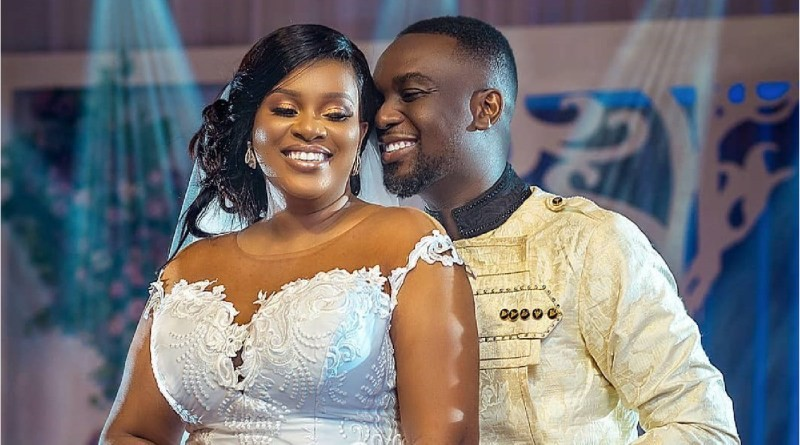 Joe Mettle's wife Mrs  Selassie Mettle Speaks after their wedding