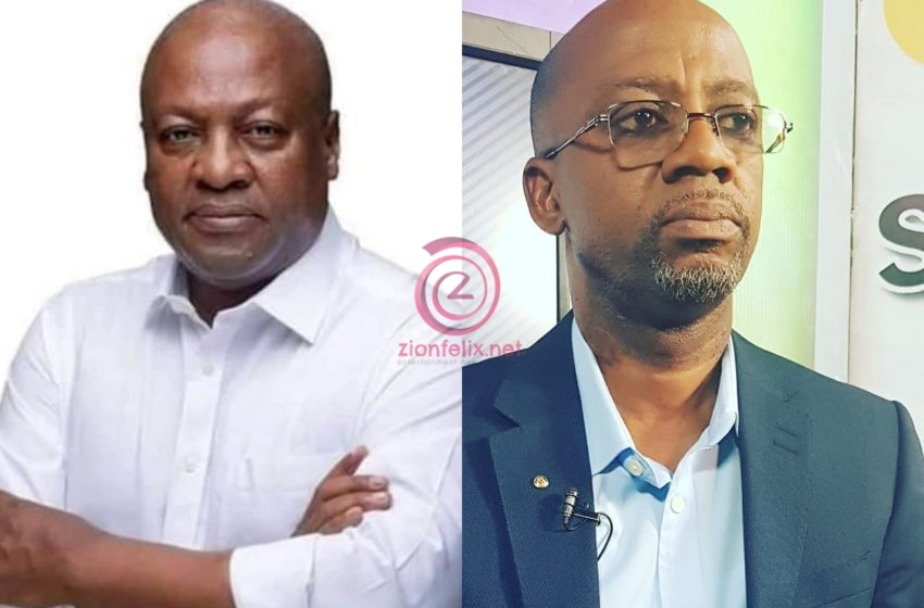 """Rex Omar Drops """"Papa Nono"""" Song To Campaign For Mahama – Watch Video"""