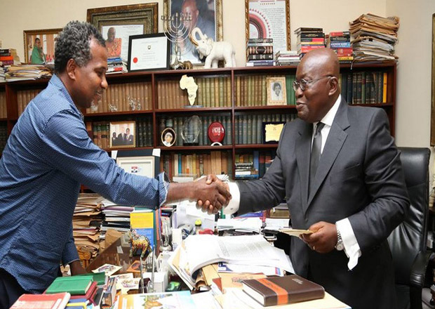 Lucky Mensah Drops Campaign Song For Akufo Addo – Watch Video