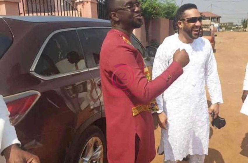 Majid Michel Shows Up At Joe Mettle's Traditional Marriage Ceremony