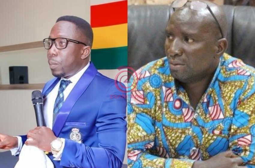 Mr Beautiful And Socrate Safo Clash Over Who Was The First Celebrity To Publicly Announce His Political Party – Watch