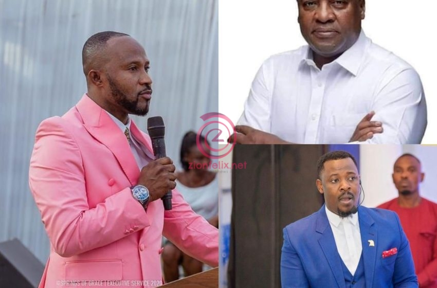Nigel Gaisie And Other Prophets Are Deceiving Mahama With Fake Prophecies – Pastor Prince