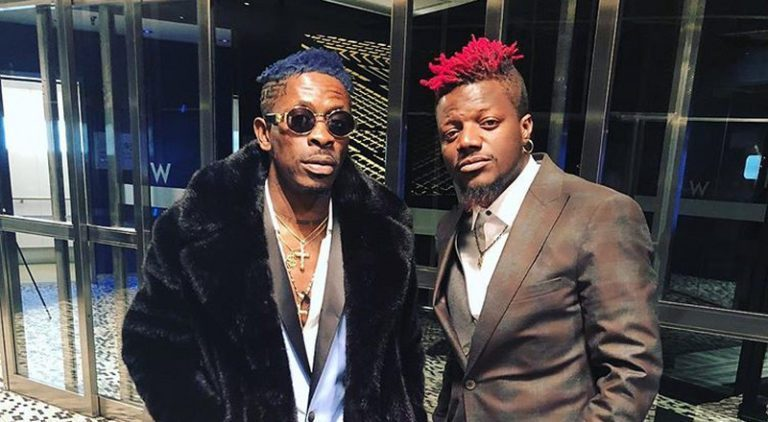 Pope Skinny Celebrates Shatta Wale On The Occasion Of His Birthday Today (See Photo)