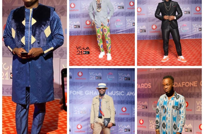 Check Out Red Carpet Photos From The 2020 Vodafone Ghana Music Awards