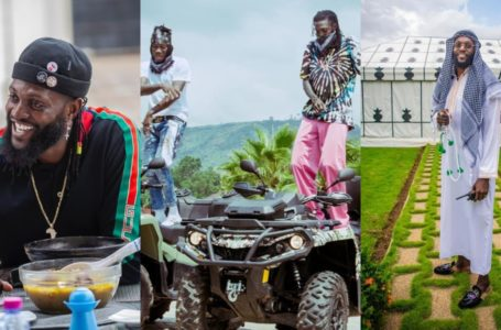 Stonebwoy Visits Adebayor In His Togo Mansion; Sings For Him In New Video As They Chill Together – Watch