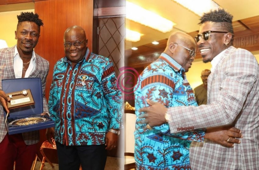'Shatta Wale You Do All' – President Akufo-Addo Finally Congratulates Shatta Wale