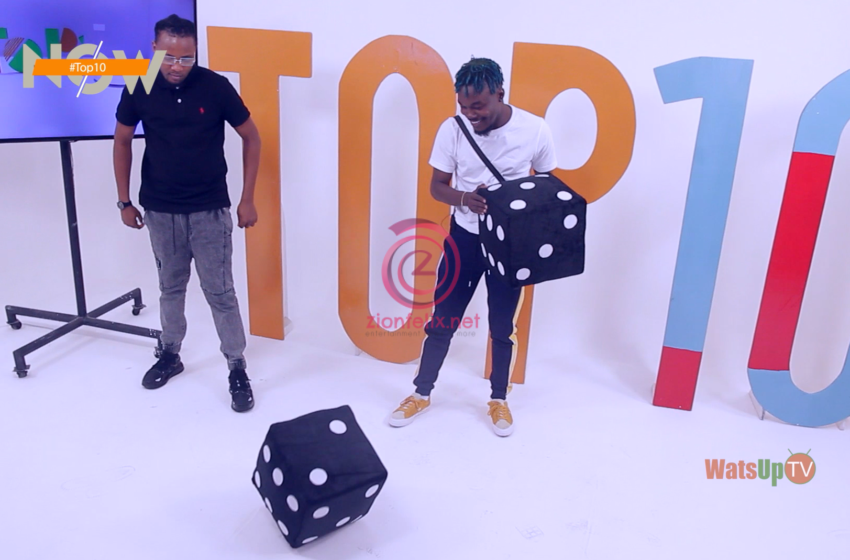 Musician Camidoh Caught With Stolen iPhone 11 At WatsUp TV Studio