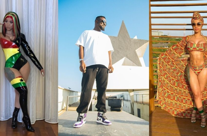 Sarkodie Set To Collaborate With American Superstar Cardi B (See Photos)