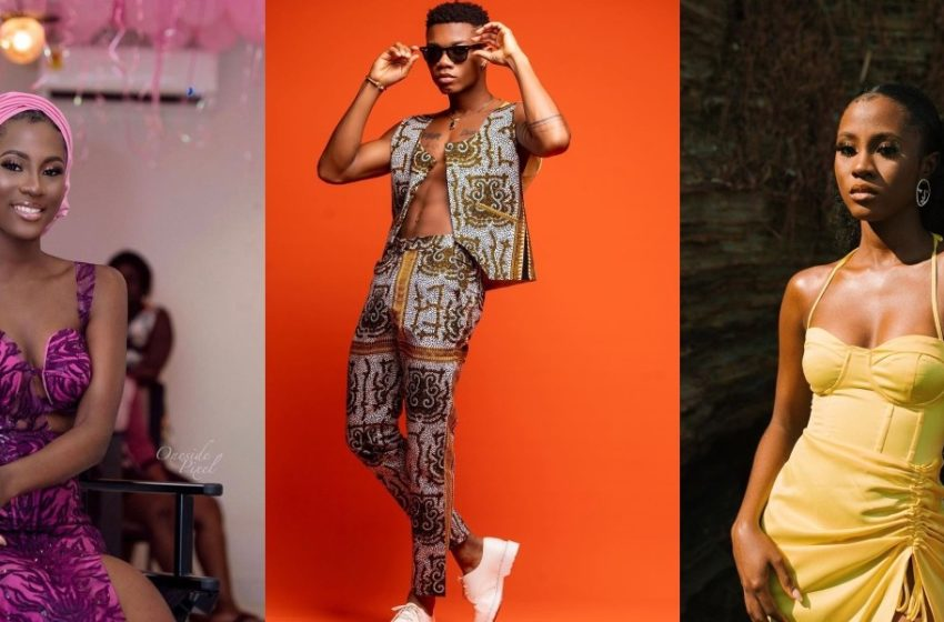 """4 """"lovey-dovey"""" photos of Kidi and Cina Soul stir dating rumors (See Photos)"""
