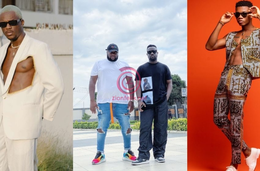 Sarkodie, Kidi, Dee Money And Other Top Musicians Storm Joey B's House To Celebrate His Birthday (Watch Video)