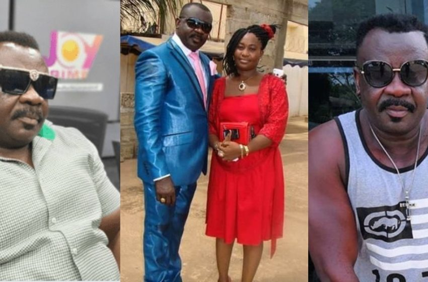 Ten Years On: Actor Koo Fori And Family Visits His Wife At The Cemetery (Watch Video)