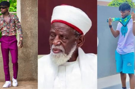2020 VGMA Artiste Of The Year Kuami Eugene Presents His Award To The National Chief Imam (Watch Video)
