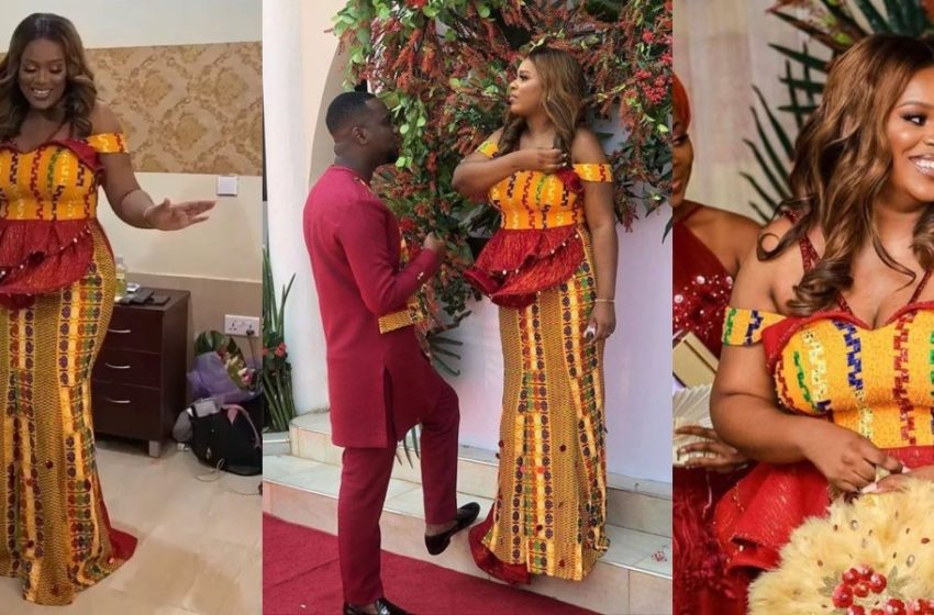 Joe Mettle And His Wife Wow Guests At The Traditional Wedding With Beautiful Couple's First Dance – Watch