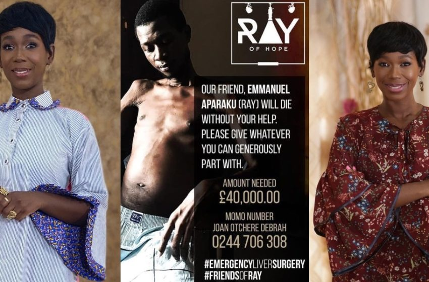Ama K Abebrese Donates To Help PenciledCelebrities Creator Ray Who Has Been Diagnosed With Liver Disease (See Post)
